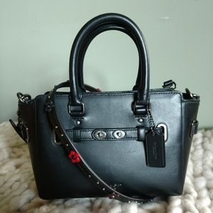 Coach Blake Mini Carryall with Floral Strap